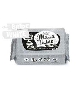 Massa Ticino Bride White Sugar Paste 1kg Best Before 5-11-20