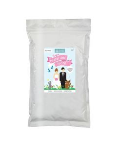 Squires Kitchen Sugar Modelling Paste - Snow White - 1kg