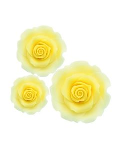 SugarSoft Roses - Mixed Pack - Ombre Yellow  -12 Roses