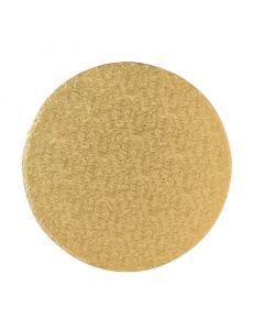 """12"""" Round Gold Drum"""