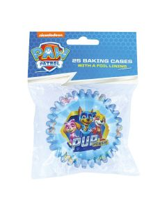 PAW Patrol Foil Lined Baking Cases - Pack of 25
