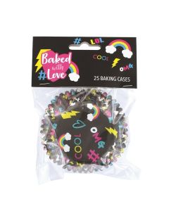 BWL Foil Lined #LOL Baking Cases - Pack of 25