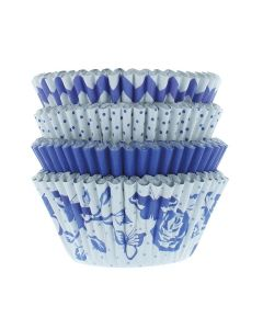 House Of Cake China Blue Cupcake Cases - Pack of 100