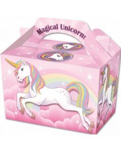Unicorn Cake And Sweet Box With Handle (Pack of 5)