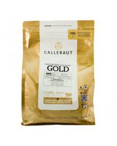 Callebaut Caramel - Finest Belgian Gold Couverture Chocolate 2.5KG
