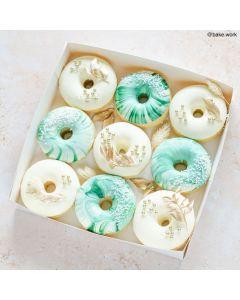"8"" Doughnut Box With Window (Single)"