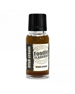 Foodie Flavours Irish Cream Natural Flavouring 15ml