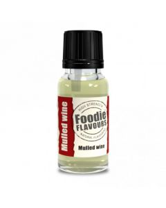 Foodie Flavours Mulled Wine Natural Flavouring 15ml
