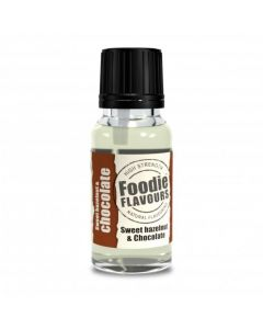 Foodie Flavours Sweet Hazlenut & Chocolate Natural Flavouring 15ml