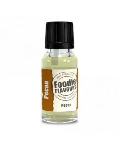 Foodie Flavours Pecan Natural Flavouring 15ml