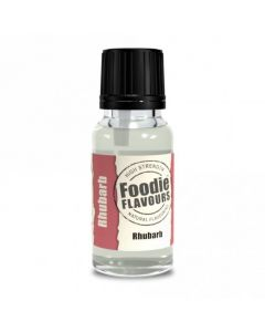 Foodie Flavours Rhubarb Natural Flavouring 15ml