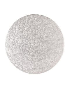 """22"""" Round Silver Drum"""