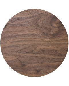 "10"" Wood Effect Masonite Cake Board 4mm Thick"