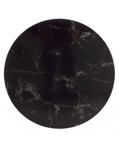 "6"" Marble Black Masonite Cake Board 4mm Thick"