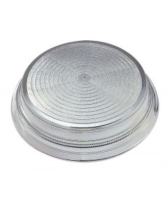 """14"""" Silver Round Cake Stand"""