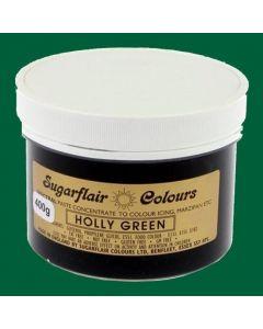 Sugarflair Spectral Holly Green (400g Pot)