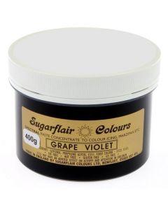 Sugarflair Spectral Grape Violet (400g Pot)