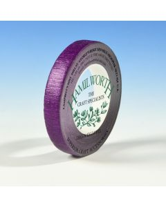 Hamilworth Metallic Purple Florist Tape (12mm x 27m)