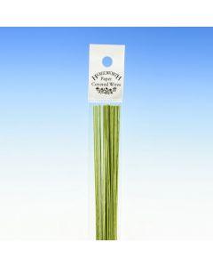 Hamilworth Nile Green Florist Stem Wires - 30 Gauge (Pack of 50)