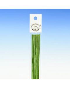 Hamilworth Nile Green Florist Stem Wires - 24 Gauge (Pack of 50)