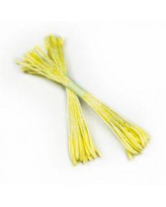 Sugar Lane Light Yellow Pollen Stamens ( Pack of 50)