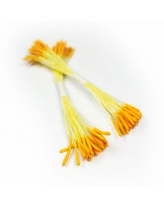 Dark Yellow Rice Pollen Stamens (Pack of 50)