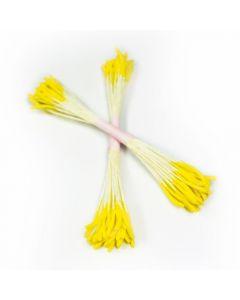 Lemon Yellow Rice Pollen Stamens (Pack of 50)