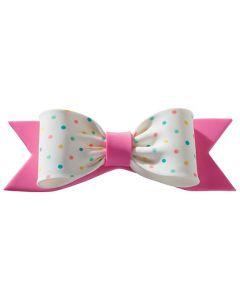 Gumpaste Bow Single Pastel Pink