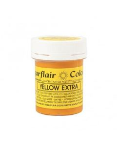 Sugarflair Extra Strong Yellow Paste (42g)