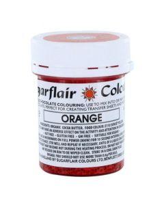 SugarFlair Orange Chocolate Colouring (35g)