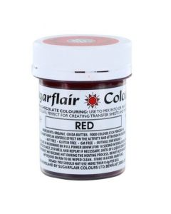 SugarFlair Red Chocolate Colouring (35g)