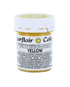 SugarFlair Yellow Chocolate Colouring (35g)
