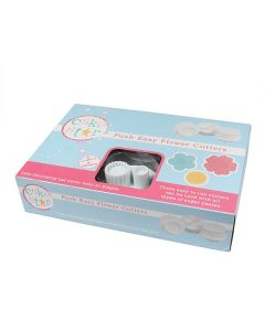 Cake Star Push Easy Cutters - Flowers 6 Piece