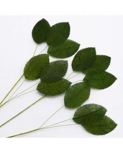Posy Leaf Green (36 Leaves/ 12 Stems per pack)