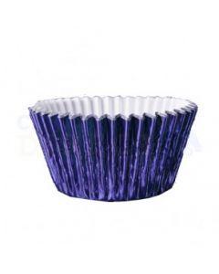 Navy Blue Foil Cupcake Baking Cases - Pack of 500