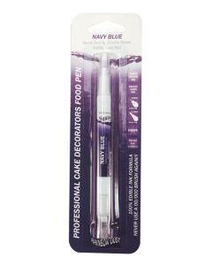 Edible Food Pen - Navy Blue