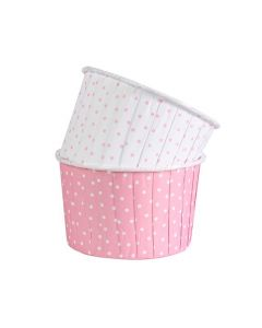 Polka Dot Pink Baking Cups (pack of 24)
