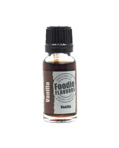 Foodie Flavours Bake Stable Vanilla Natural Flavouring 15ml
