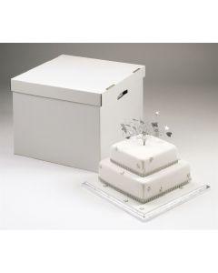 """Stacked Wedding Cake Box - 10""""/12"""""""