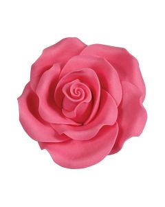 SugarSoft Rose Bright Pink 50mm - 10 Piece