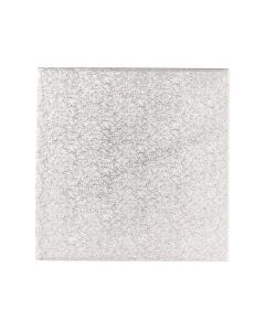 """6"""" Square Cut Edge Cake Cards (1.1mm thick) - Pack of 100"""