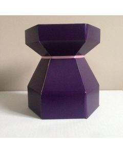 Cupcake Bouquet Box - Purple