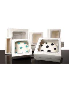 "Cake 6"" Window Box - 4"" high (Pack of 5)"