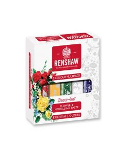 Renshaw Multipack Flower and Modelling Paste Essential Colours