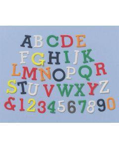 FMM Alphabet and Number Upper Case Tappit Set
