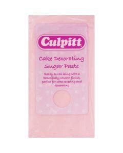 Culpitt Cake Decorating Sugar Paste Light Pink 1 x 250g - single