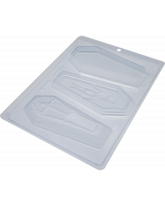 BWB 9722 - Coffin Chocolate Mould (41-N)