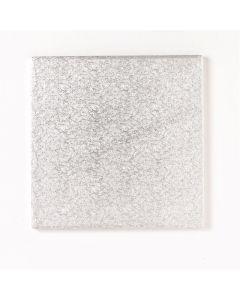 """17"""" Square Silver Drum"""