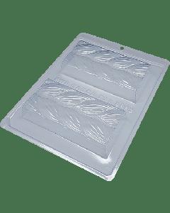 BWB - 9993 - Braided Tablet Chocolate Mould (44-N)