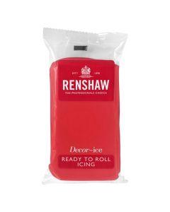 Renshaw RTR Sugar Paste - Poppy Red - 500g